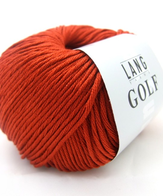 Хлопок Lang Yarns 0087 Brick Red
